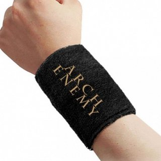 ARCH ENEMY Gold Logo, リストバンド