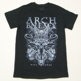 ARCH ENEMY Skull Bat, Tシャツ