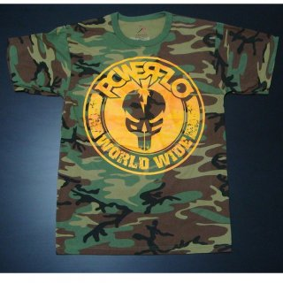 POWERFLO Worldwide-mfp Camo, Tシャツ