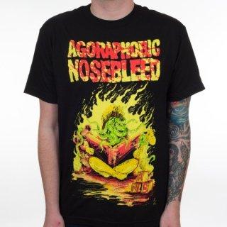 AGORAPHOBIC NOSEBLEED Octo Book, Tシャツ