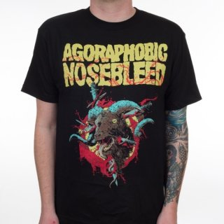 AGORAPHOBIC NOSEBLEED Ram, Tシャツ