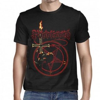 POSSESSED Jeff in the Cross, Tシャツ