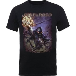 DISTURBED Vortex Colours, Tシャツ