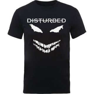 DISTURBED Scary Face Candle, Tシャツ