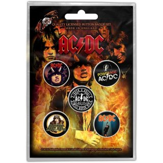 AC/DC Highway To Hell, バッジセット