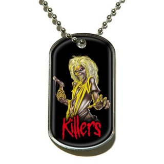 IRON MAIDEN Killers, ドッグタグ
