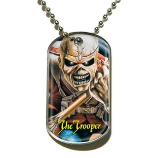 IRON MAIDEN The Trooper, ドッグタグ
