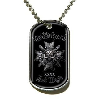 MOTORHEAD Bad Magic, ドッグタグ