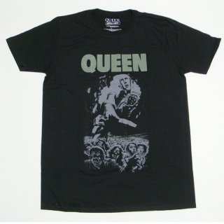 QUEEN News Of The World 40th Full Cover, Tシャツ
