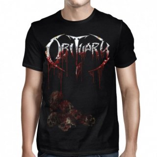 OBITUARY Pile of Skulls Blood Soaked, Tシャツ