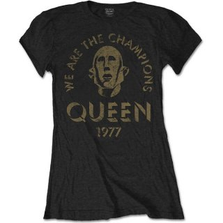 QUEEN We Are The Champions, レディースTシャツ