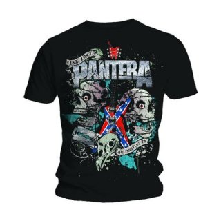 PANTERA Texas Skull, Tシャツ