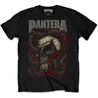 PANTERA Serpent Skull, Tシャツ