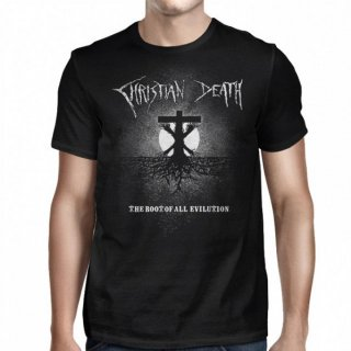 CHRISTIAN DEATH The Root of All Evilution Cross, Tシャツ