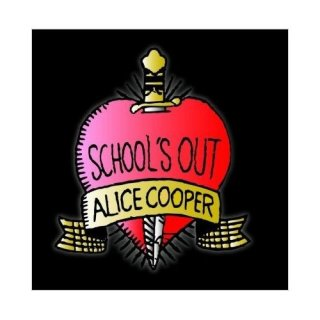 ALICE COOPER School's Out, グリーティングカード