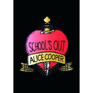 ALICE COOPER School's Out, ポストカード