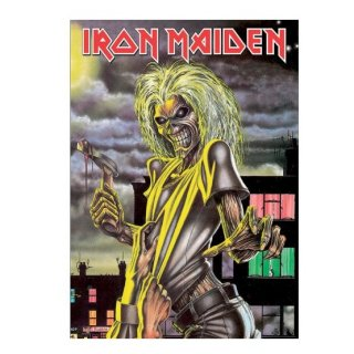 IRON MAIDEN Killers, ポストカード
