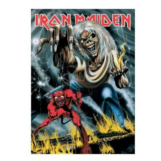 IRON MAIDEN Number Of The Beast, ポストカード