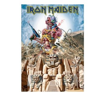 IRON MAIDEN Somewhere Back In Time, ポストカード
