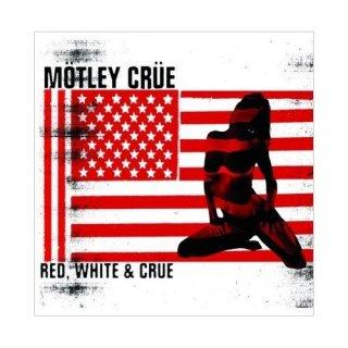 MOTLEY CRUE Red & White, グリーティングカード