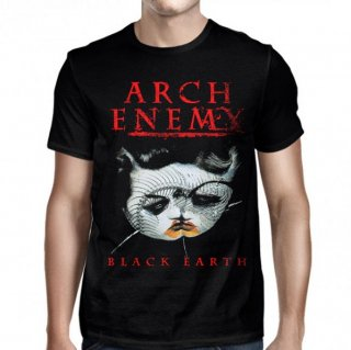 ARCH ENEMY Black Earth Original Ring Black, Tシャツ