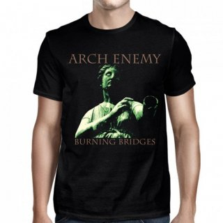 ARCH ENEMY Burning Bridges Back Ring Black, Tシャツ
