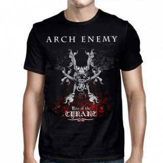 ARCH ENEMY Rise Of The Tyrant Black, Tシャツ