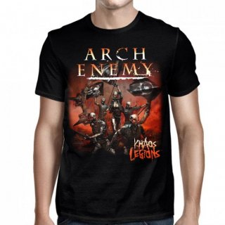 ARCH ENEMY Khaos Legions Black, Tシャツ