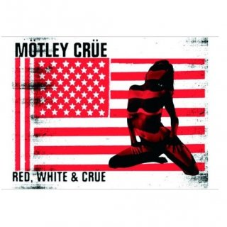 MOTLEY CRUE Red & White, ポストカード