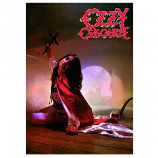 OZZY OSBOURNE Blizzard Of Oz, ポストカード