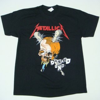 METALLICA Damage Inc Black, Tシャツ