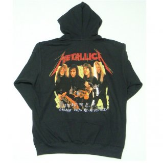 METALLICA Garage Photo Yellow, Zip-Upパーカー