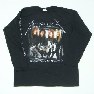 METALLICA Garage Cover, ロングTシャツ