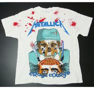 METALLICA Crash Course In Brain Surgery A/O, Tシャツ