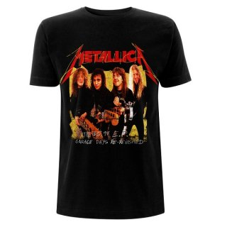METALLICA Garage Photo Yellow, Tシャツ