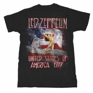 LED ZEPPELIN Stars N Stripes Usa 97, Tシャツ