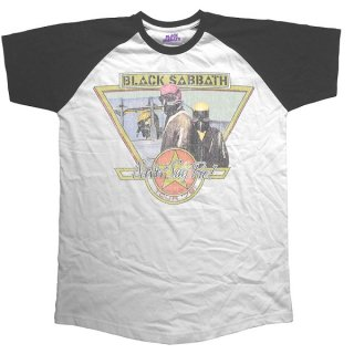 BLACK SABBATH Never Say Die Tour 1978, ラグランTシャツ