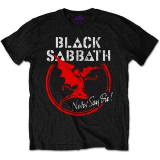 BLACK SABBATH Archangel Never Say Die, Tシャツ