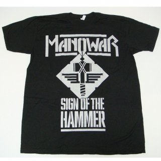 MANOWAR Sign Of The Hammer/black, Tシャツ