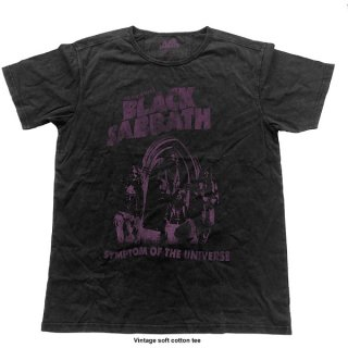 BLACK SABBATH Symptom Of The Universe Blk, Tシャツ