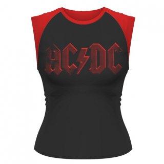 AC/DC Highway Lightning, ノースリーブTシャツ(レディース)