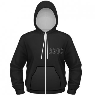 AC/DC Back In Black, Zip-Upパーカー