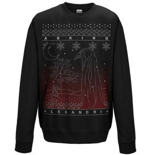 ASKING ALEXANDRIA The Black Christmas, スウェットシャツ