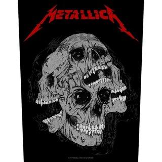 METALLICA Skulls, バックパッチ