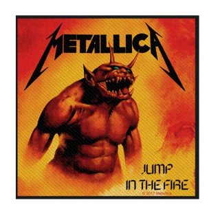 METALLICA Jump In The Fire, パッチ