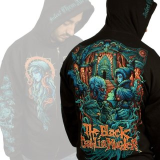 THE BLACK DAHLIA MURDER Phibes, Zip-Upパーカー