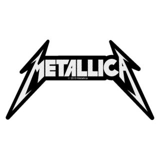 METALLICA Shaped Logo, パッチ