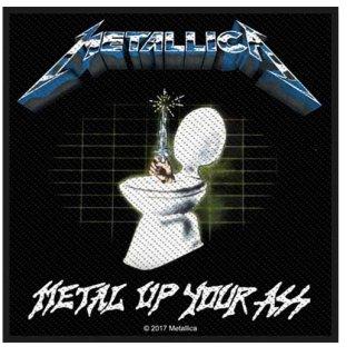 METALLICA Metal Up Your Ass, パッチ