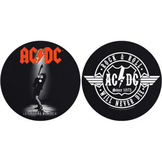 AC/DC Let There BE Rock/Rock & Roll, スリップマット(2枚入り)