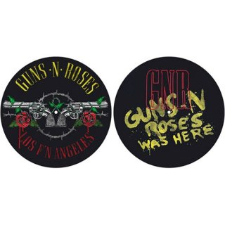 GUNS N' ROSES Los F'N Angeles / Was Here, スリップマット(2枚入り)